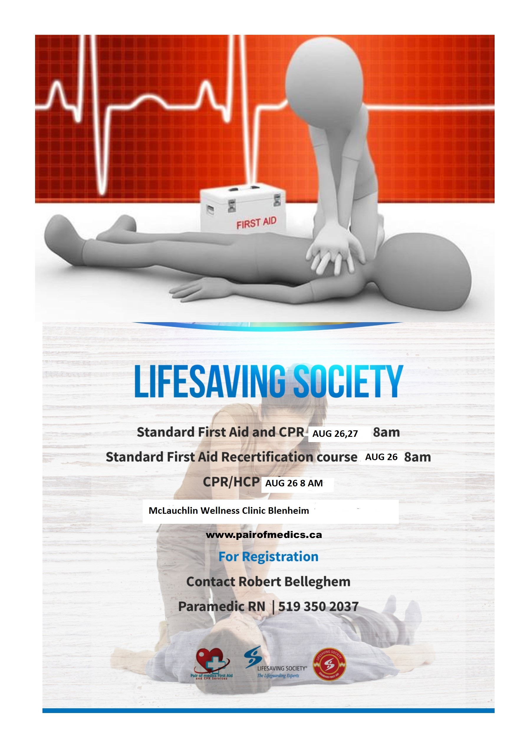 Standard First Aid Re Certification Course